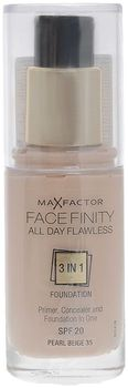 MAXFACTOR Тональная основа Facefinity All Day Flawless 3-in-1 №35 pearl beige
