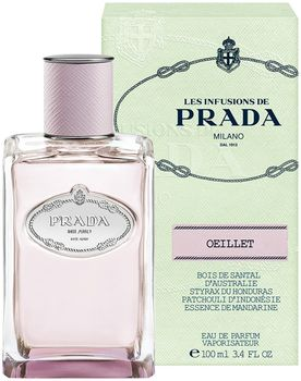 Парфюмерная вода Les Infusions De Prada Oeillet, 100 ml. - Prada Fragrances