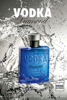 VODKA DIAMOND, 100 мл PARIS ELYSEES