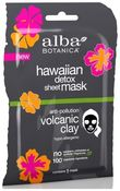 Alba Botanica Вулканическая гавайская маска Detox Micro-Extraction Sheet Mask 15г