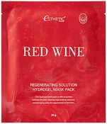 Esthetic House гидрогелевая маска для лица red wine regenerating solution hydrogel mask pack N1