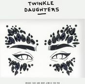 Патч для лица «маска» с черными кристаллами - Twinkle Daughters