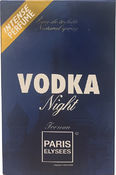 VODKA NIGHT 100 мл PARIS ELYSEES