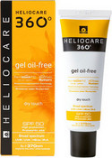 "Солнцезащитный гель с SPF-50 ""HELIOCARE 360 and ordm; Gel Dry Touch"", 50 мл (Cantabria Labs)"